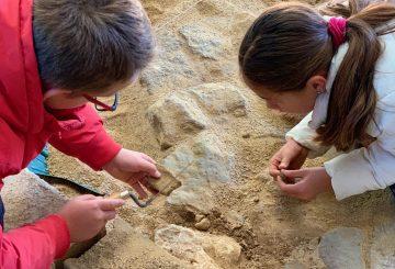 Découverte de l'archéologie en milieu scolaire !